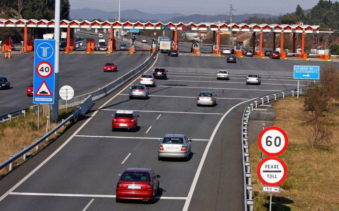 El peaje de las autopistas subirá a partir del 1 de enero