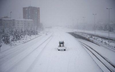 ¿Puede sancionarme la empresa si no he acudido a trabajar por el temporal de nieve?
