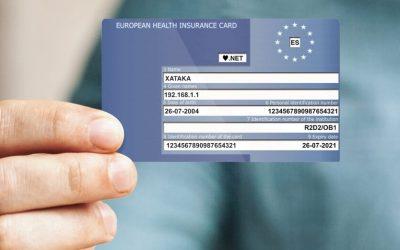 Obtener la Tarjeta Sanitaria Europea es gratuito